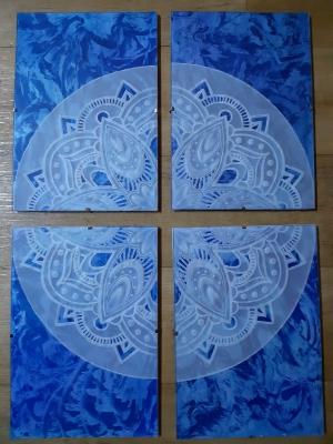 Mandala - papírová krajka
